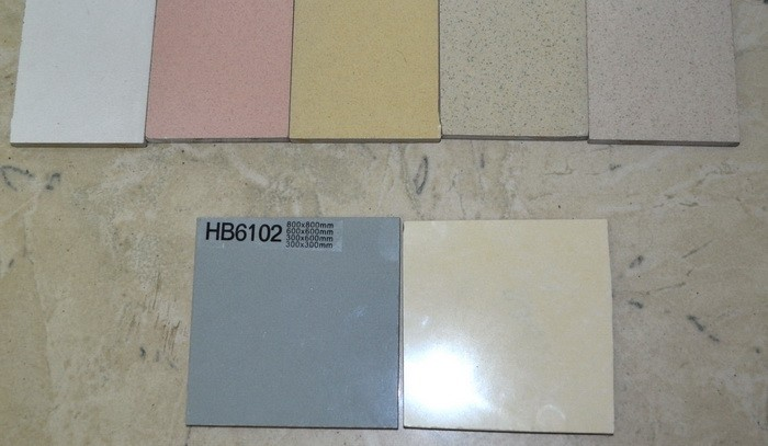 Керамогранит-300х300, беж, гол, крас, желт, соль-перец, матовый (шероховатый).